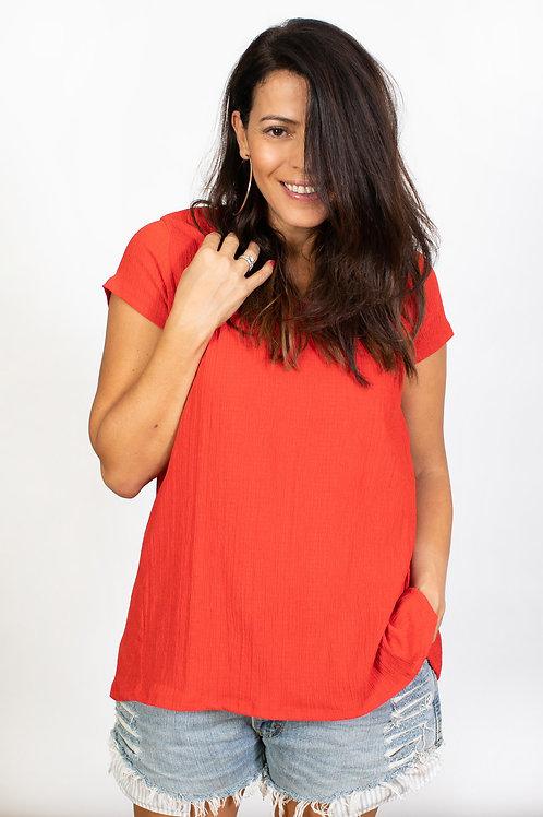 DOLLEV חולצה אדומה