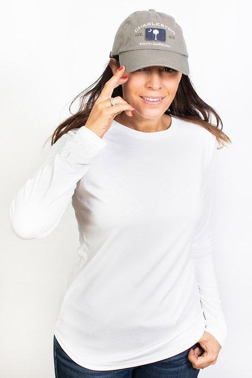 GELON חולצה לבנה פסים