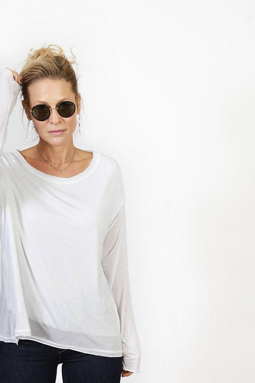 NATALIA חולצה לבנה