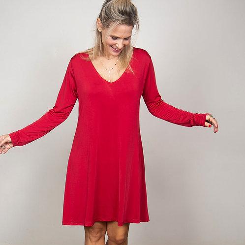 ODEL שמלה אדומה