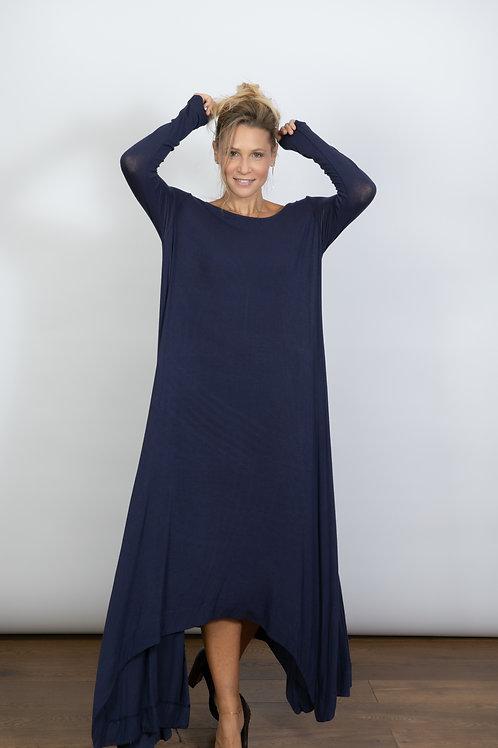 RANELLI שמלה כחולה מקסי