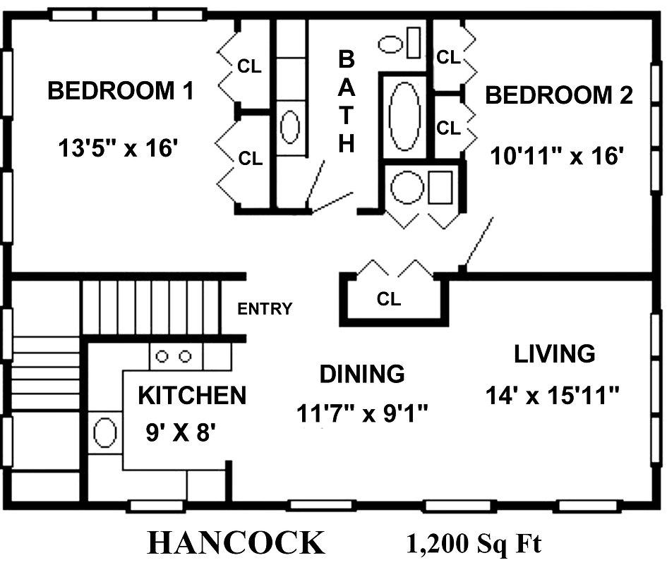 234-A Floor Plan   Rossmoor Sales