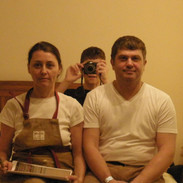 Refernce to American Gothic by Grant Wood by