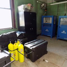 Air Filling Stored in Appratus Bay