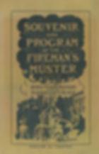 1912 Souvenir Program of the Southbridge Fireman's Muster