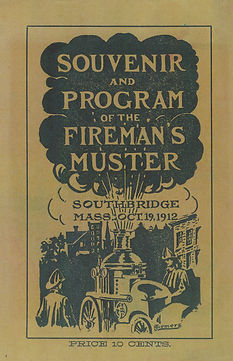 1912 Souvenir Program of the Southbridge Fireman's Muster