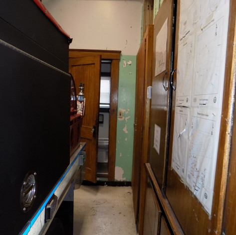 Public Rest Room in the Apparatus Bay