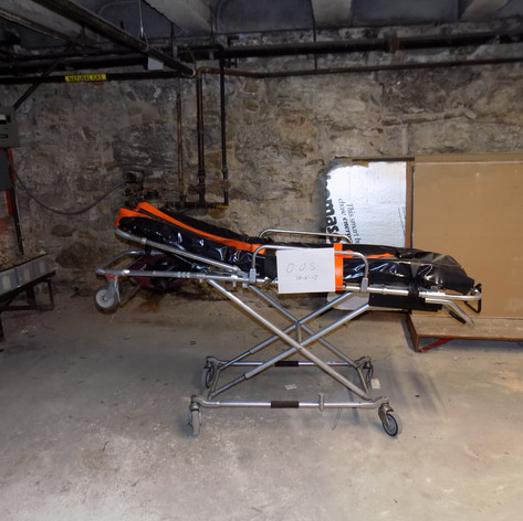 EMS Equipment Stored in Basement