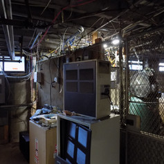 Dispatch Equipment is Located in the Basement