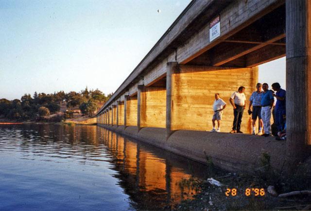 Pardee Spillway