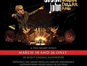 Legenda zagości w Ygreku, czyli koncert Eltona Johna na dużym ekranie