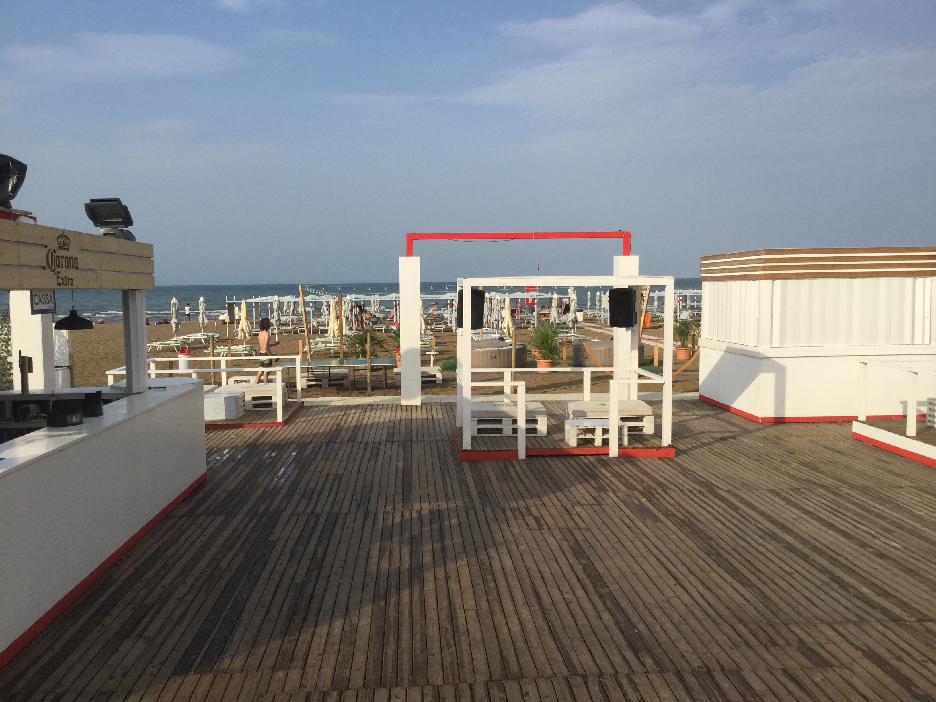 Mojito Beach prima Delle Riprese