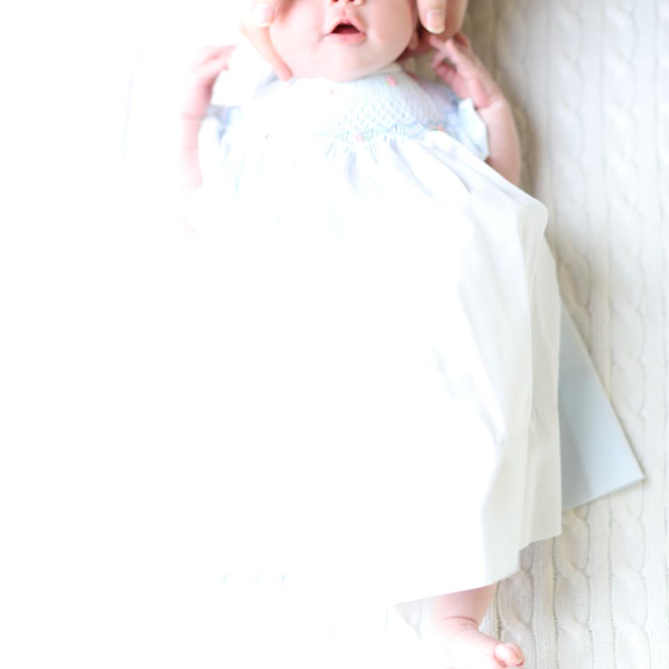 Classic newborn portrait photographer