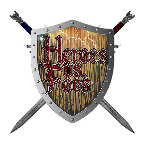 Heroes Vs. Foes Deluxe Edition Print & Play