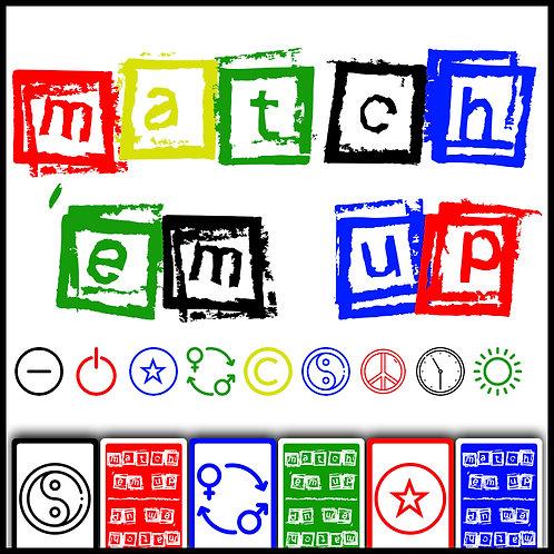 Match 'Em Up Expert Edition - Print & Play