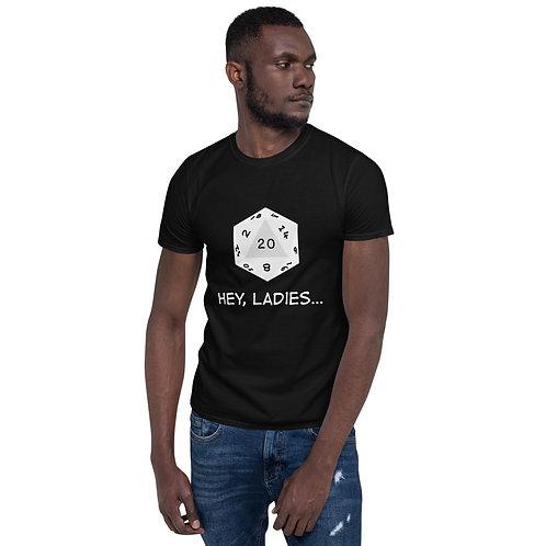 Hey, Ladies T-Shirt - White Image