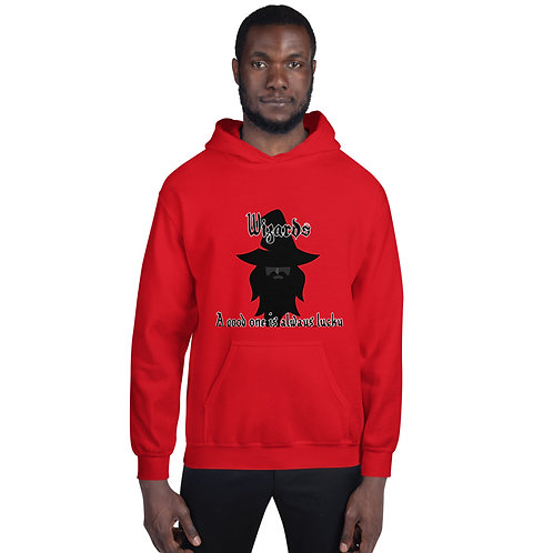 Wizards - A Good One Is Always Lucky Hoodie - Black Image