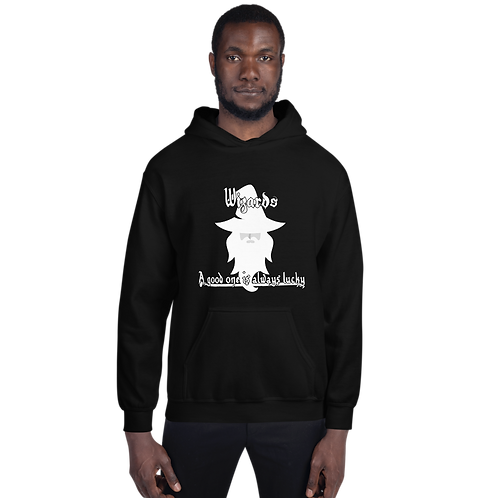 Wizards - A Good One Is Always Lucky Hoodie - White Image