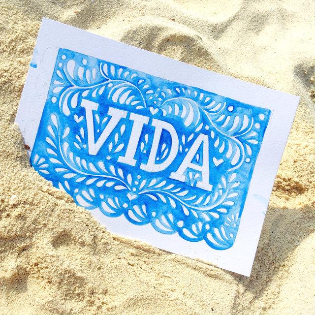 """VIDA"" - Watercolor on paper"