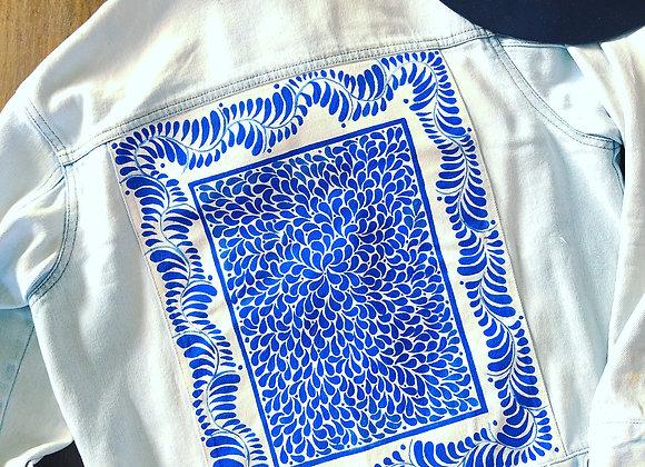 Talavera. Denim jacket with style