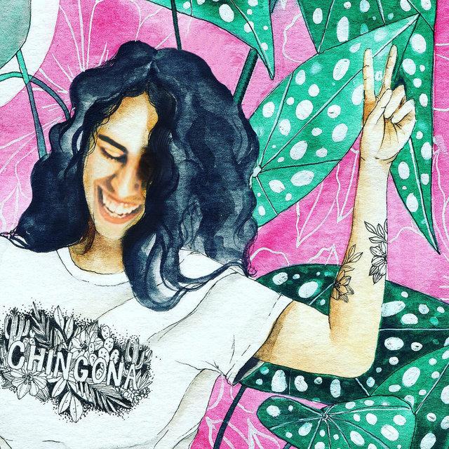 Self Portrait  - Watercolor on paper