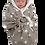 Thumbnail: Grey Stars Snugglebundl Baby Blanket