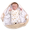 Thumbnail: Cream Stars Snugglebundl Baby Blanket
