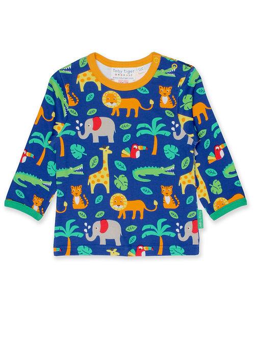 Toby Tiger Organic Jungle T-Shirt