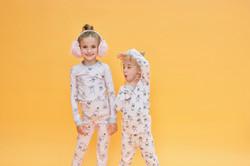 Pink Bear Pyjamas Set