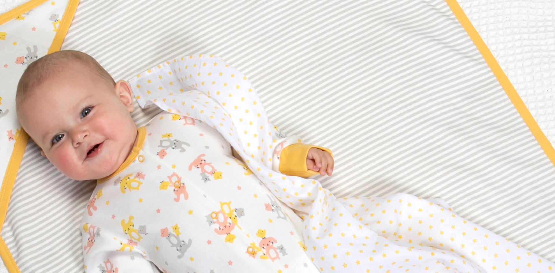 Bunny & Chick Sleepsuit