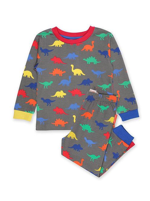 Toby Tiger Organic Dinosaur Pyjamas