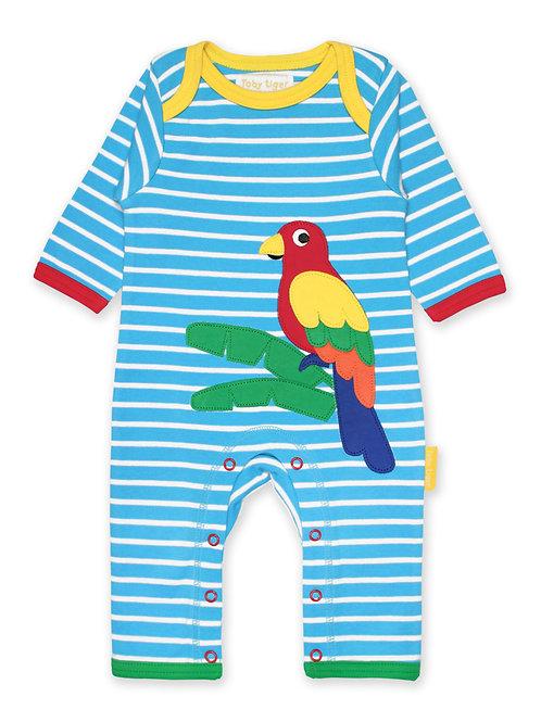 Organic Parrot Sleepsuit