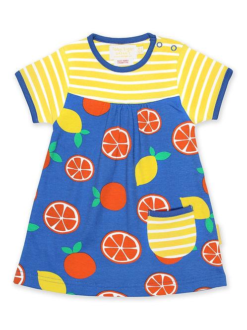 Organic Oranges & Lemons Summer Dress