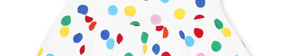 Organic Confetti Print SS Twirl D