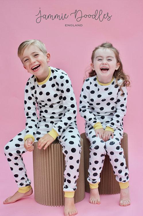 Mono Spot Children's Pyjama Set