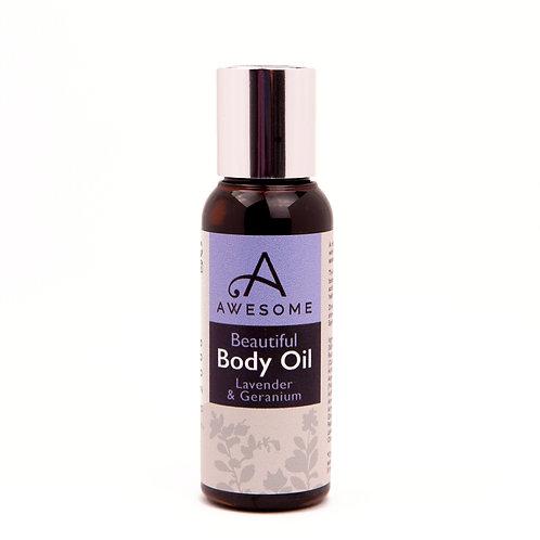 Lavender & Geranium Body Oil