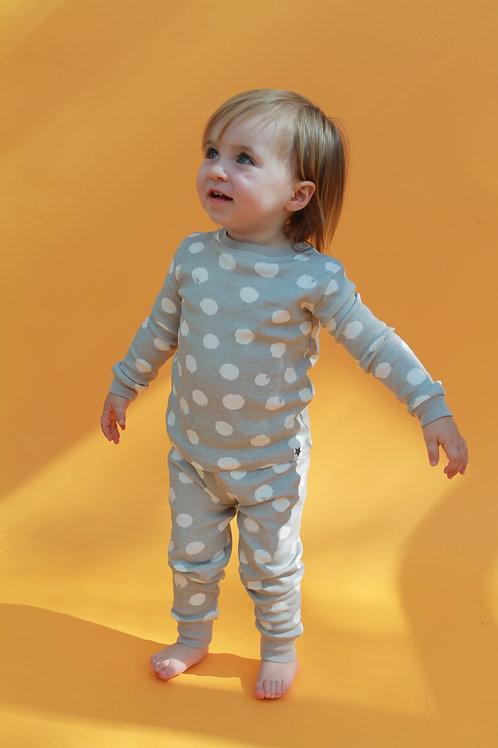 Grey Spot Children's Pyjama Set