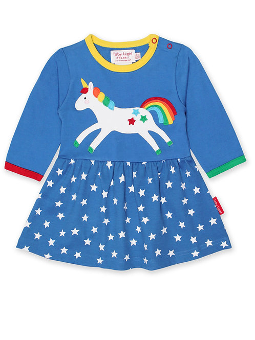 Toby Tiger Organic Unicorn Twirl Dress