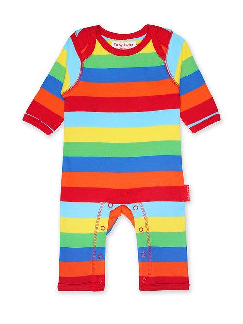 Multi Stripe Sleepsuit