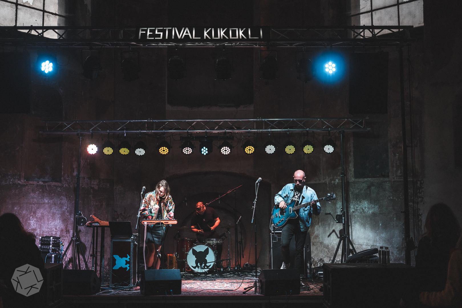 Koně a prase na festival KUKOKLI 2019