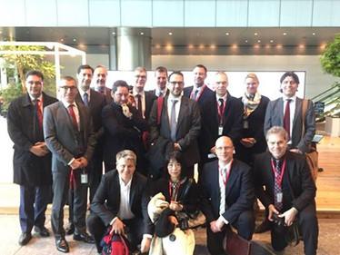 German Marketing Association's study tour in Tokyo