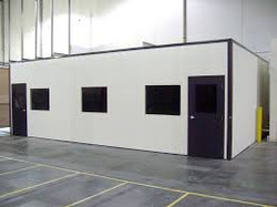 Readymade office partitions