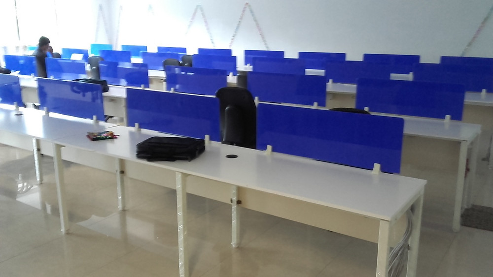 Linear workstations at Reliance, Hyderabad