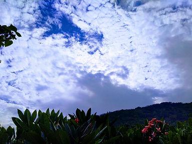 Araku Valley, Skies in the evening