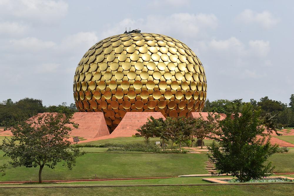 Auroville Ashram at Pondicherry, The famous Auroville domce
