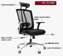 Vibe HB Prime Rs.10,500 + GST