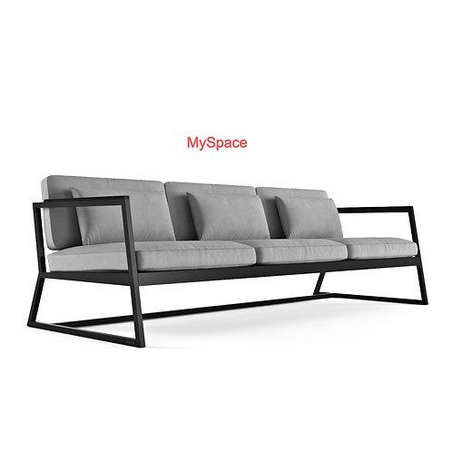 Sofa 3 Seat Fabric