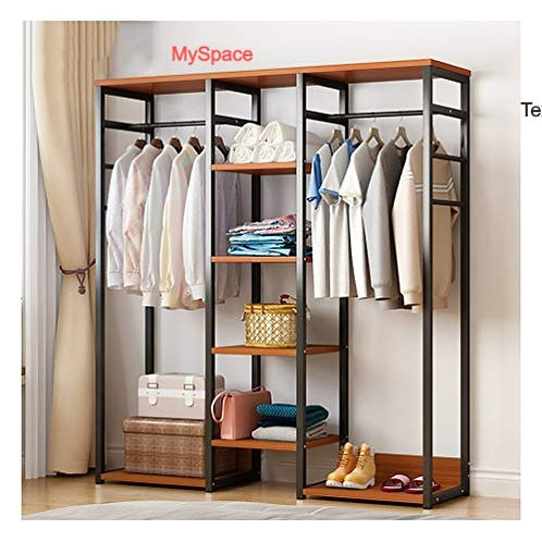 7 Feet Open Wardrobe