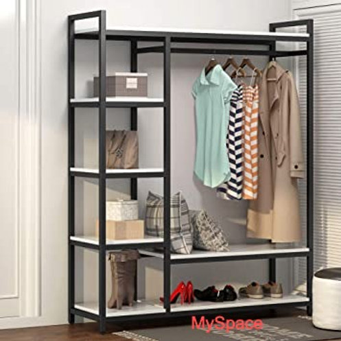 5 Feet Open Wardrobe