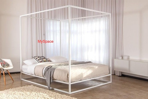 Four Poster Bed -Metal